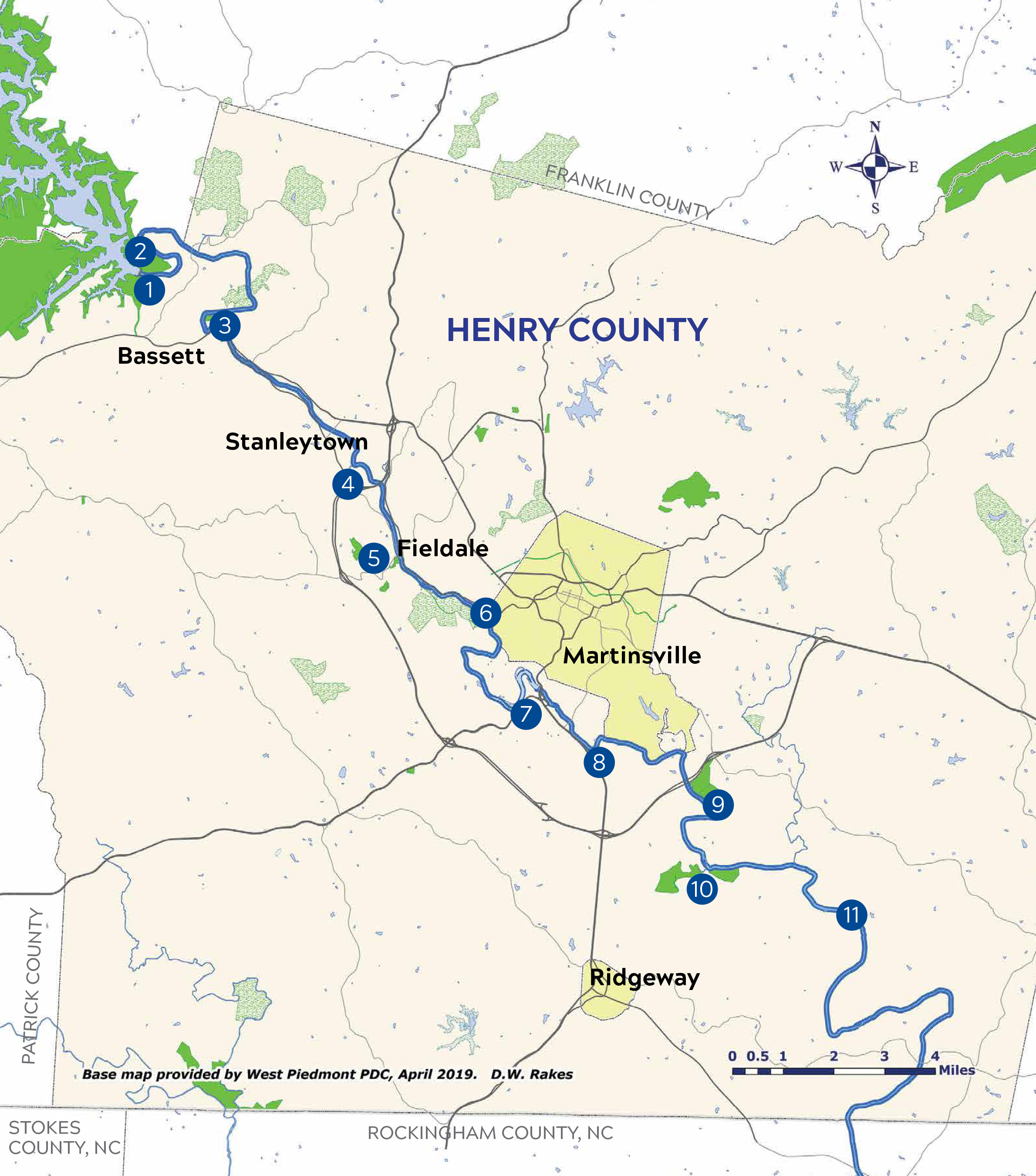 Smith River Access Map